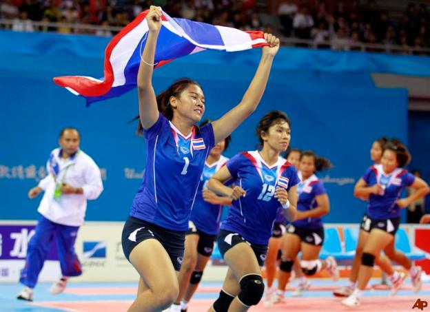 แพ้แบบประทับใจ กาบัดดีสาวไทยได้เหรียญเงิน โดย 26 พ.ย. 2553 14:45