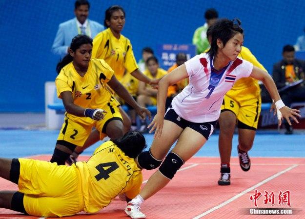 กาบัดดีสาวไทยสุดยอด! ดับบังกลาเทศทะลุชิงทอง โดย 25 พ.ย. 2553 15:20