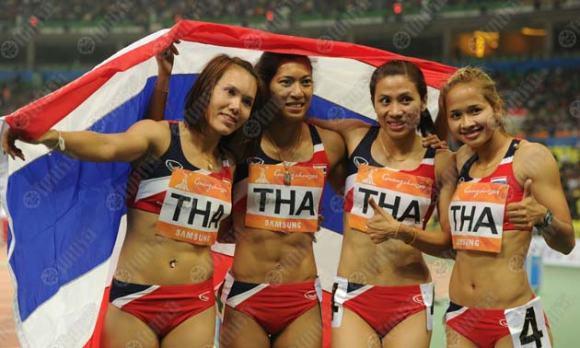 ผลัดหญิงผงาดเจ้าเอเชีย-ชายป้องแชมป์ไม่สำเร็จ โดย 26 พ.ย. 2553 17:30
