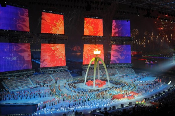 The last Asian Games were held in Guangzhou in 2010 and the next games are in Incheon in South Korea, starting on September 19 this year. Photo: AFP