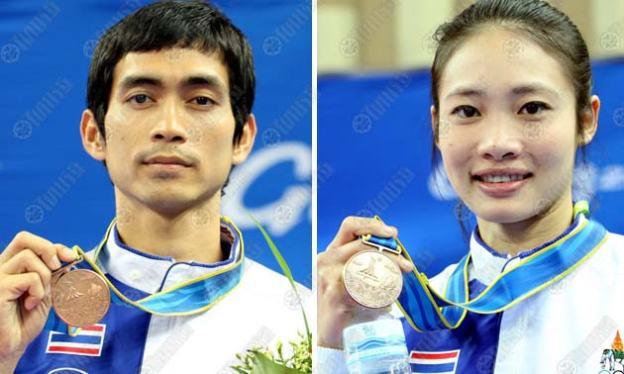 'แจ็ค-ปุ้ย'ควงคู่ซิวทองแดงคาราเต้อีกสองเหรียญ โดย ไทยรัฐออนไลน์ 25 พ.ย. 2553 09:00