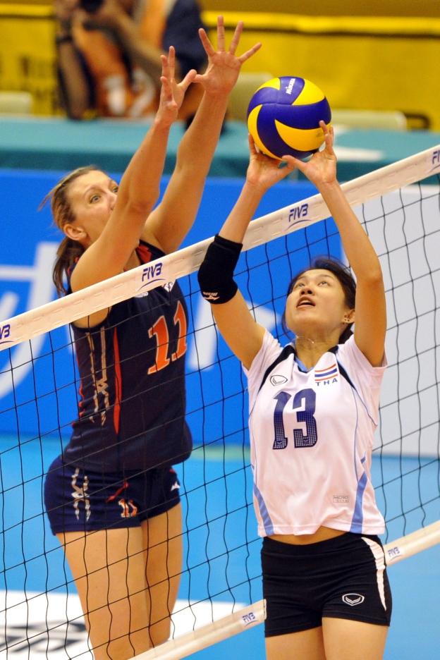 ทีมวอลเลย์บอลสาวไทย - อันดับโลก