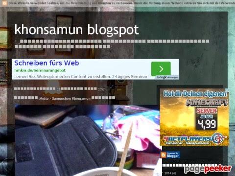 ภาพ khonsamun blogspot - pagepeeker