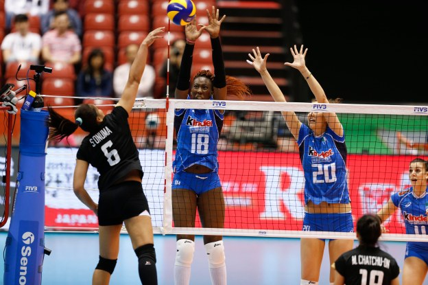 Italy – Thailand GALLERY 2016 World Olympic Qualification