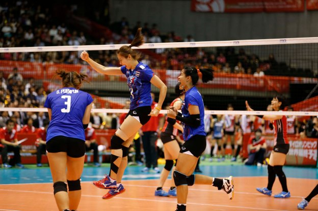 Japan – Thailand GALLERY 2016 World Olympic Qualification