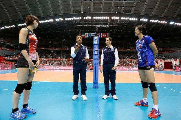 JPN vs THA before the match