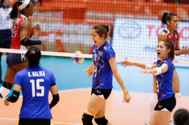 Thailand – Dominican Republic GALLERY 2016 World Olympic Qualification