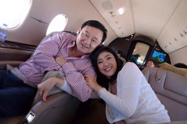 อวยพร พ่อแม้ว Yingluck Shinawatra