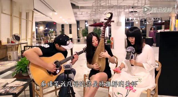 【郝浩涵梦工厂】吉他弹唱 追梦人(本期搭档 周韵、王梦娇)