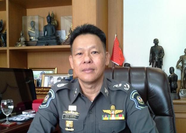 พลตำรวจตรีสมชาย เกาสำราญ ผู้บังคับการ ตำรวจทางหลวง