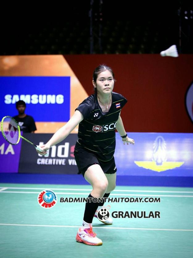 """""""ครีม"""" บุศนันทน์ ชนะ สาวจีน เฉิน ยู่เฟย เข้าชิงแบดไทยแลนด์มาสเตอร์ badmintonthaitoday - 11 ก.พ. 2560"""