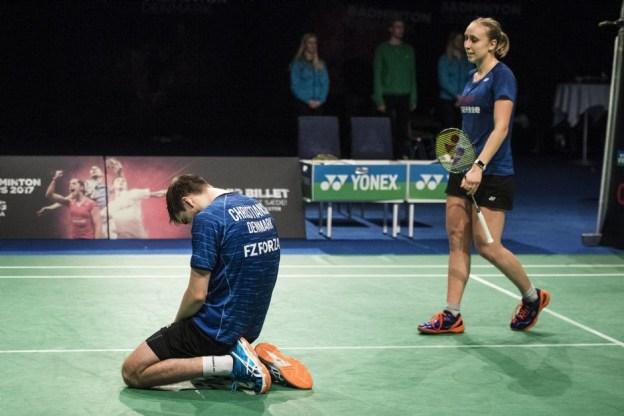 เดชาพล-ทรัพย์สิรี vs Mathias CHRISTIANSEN Sara THYGESEN [DEN] Celcom Axiata Malaysia Open 2017