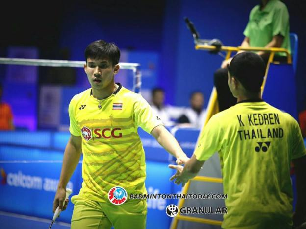 กิตตินุพงษ์-เดชาพล vs Mathias CHRISTIANSEN-David DAUGAARD [DEN] Celcom Axiata Malaysia Open 2017