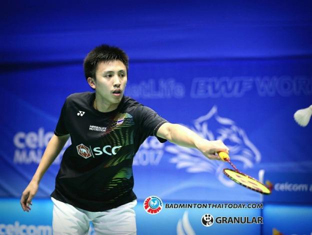 ทนงศักดิ์-หลิน ตัน LIN Dan [7] [CHN] vs Tanongsak SAENSOMBOONSUK [THA] Celcom Axiata Malaysia Open 2017
