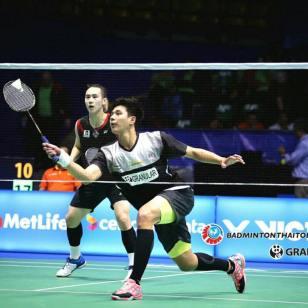 บดินทร์-นิพิฐพนธ์ vs LU Ching Yao-YANG Po Han [TPE] Celcom Axiata Malaysia Open 2017