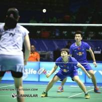 บดินทร์-สาวิตรี vs ZHENG Siwei [1]-CHEN Qingchen [CHN] Celcom Axiata Malaysia Open 2017