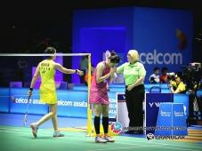 เมย์ต้านความแข็งแกร่งมารินไม่ไหวพ่ายไป 1-2 เกมส์ badmintonthaitoday - 7 เม.ย. 2560