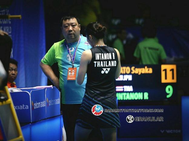 รัชนก-ซายากะ ซาโตะ Ratchanok INTANON [7] [THA] vs Sayaka SATO [JPN] Celcom Axiata Malaysia Open 2017