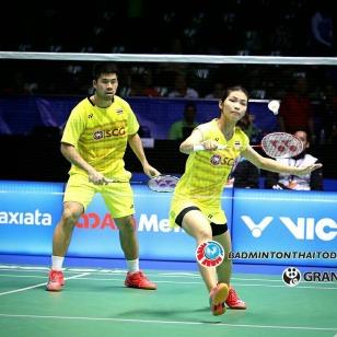 นิพิฐพนธ์-จงกลพรรณ vs Praveen JORDAN [6]-Debby SUSANTO [INA] Celcom Axiata Malaysia Open 2017