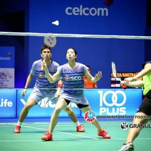 บดินทร์-สาวิตรี vs Hafiz FAIZAL-Shela Devi AULIA [INA] Celcom Axiata Malaysia Open 2017