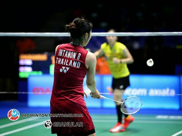 รัชนก-บุศนันทน์ Ratchanok INTANON [7] [THA] vs Busanan ONGBAMRUNGPHAN [THA] Celcom Axiata Malaysia Open 2017