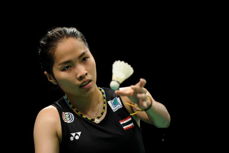 รัชนก-ไซนา เนห์วาล Ratchanok INTANON [8] [THA] vs Saina NEHWAL [IND] BCA Indonesia Open 2017