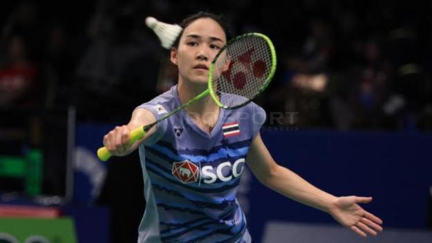 ณิชชาอร-ไซนา เนห์วาล Nitchaon JINDAPOL [THA] vs Saina NEHWAL [IND] BCA Indonesia Open 2017