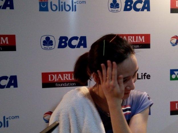 BADMINTON INDONESIA @INABadminton Nitchaon Jindapol berhasil kalahkan Saina Nehwal di babak kedua #BCAIndonesiaOpen. #EaaForIndonesia