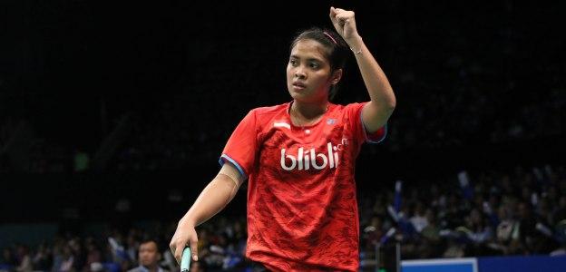 กรีกอเรีย มาริสก้า-เฉิน ยู่เฟย Gregoria Mariska TUNJUNG [INA] vs CHEN Yufei [CHN] BCA Indonesia Open 2017