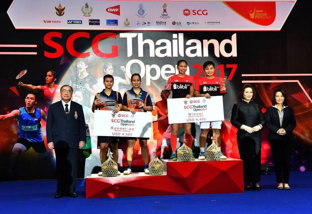 เบสท์ ชญานิษฐ์ ฉลาดแฉลม จ๋อมแจ๋ม ผไทมาส เหมือนวงศ์ SCG Thailand Open 2017