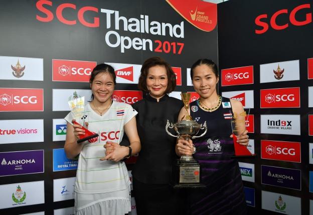 รัชนก-บุศนันทน์ Ratchanok INTANON [1] [THA] vs Busanan ONGBAMRUNGPHAN [4] [THA] SCG Thailand Open 2017