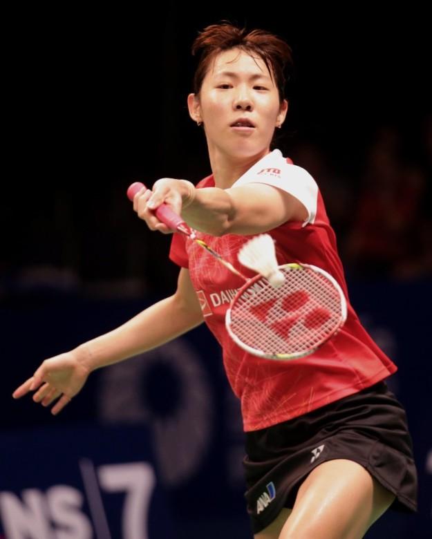 ณิชชาอร-ซายากะ ซาโตะ Sayaka SATO [JPN] vs Nitchaon JINDAPOL [THA] BCA Indonesia Open 2017